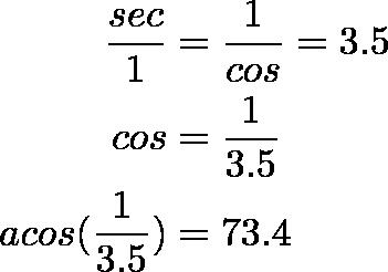 секанс