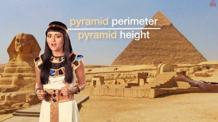 Числ пи в Египте